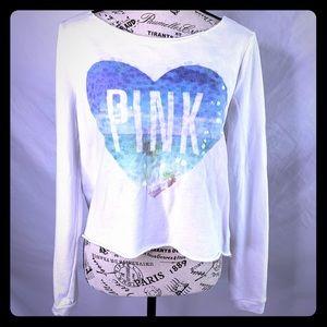 VS PINK sequin sweatshirt